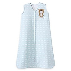 image of HALO® SleepSack® Bear Wearable Blanket in Blue