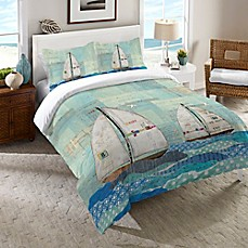 image of Laural Home® At the Regatta Comforter in Blue