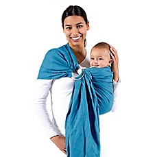 image of Beco Ring Sling Baby Carrier in Ocean Blue