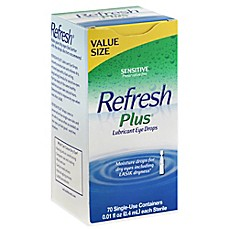 image of Allergan Refresh® Plus 70-Count Lubricant Eye Drops