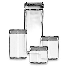 image of Anchor Hocking® Stackable Square Canisters