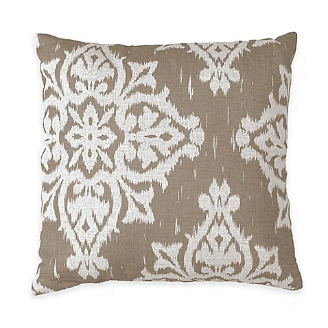 Throw Pillows Taupe : Buy Medina Square Throw Pillow in Taupe from Bed Bath & Beyond