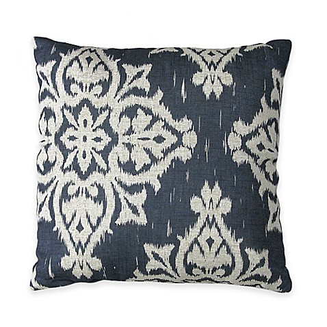 Navy Throw Pillows For Bed : Buy Medina Square Throw Pillow in Navy from Bed Bath & Beyond