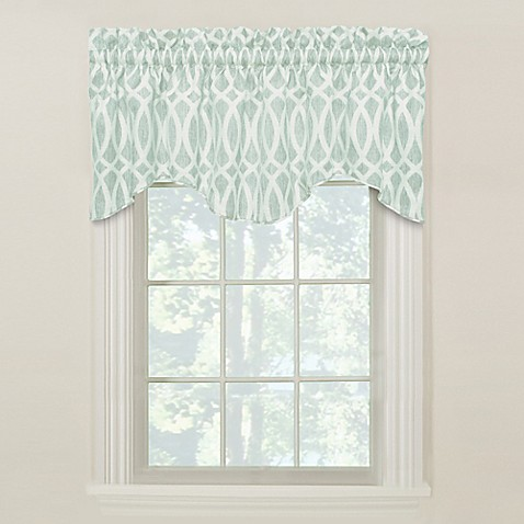 White Curtains black and white curtains for sale : Window Scarves | Window Valances - Bed Bath & Beyond