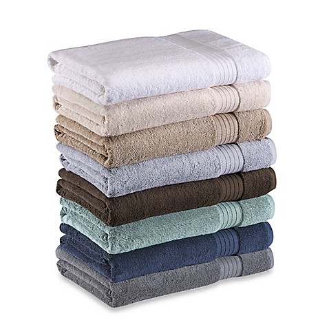 Frette at home milano bath towel collection bed bath for Frette milano