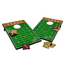 image of NCAA University of Texas Field Tailgate Toss Cornhole Game