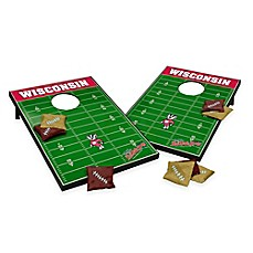 image of NCAA University of Wisconsin Field Tailgate Toss Cornhole Game
