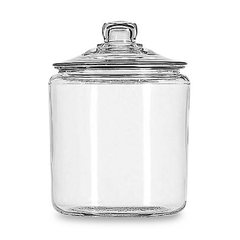 Anchor Hocking 174 Heritage Hill 1 Gallon Storage Jar Bed