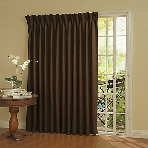 SolarShieldu0026reg; Patio Door Thermal Room Darkening Window Curtain Panel