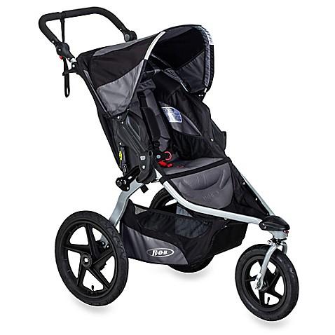 bob revolution flex jogging stroller in black buybuy baby
