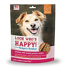 image of Look Who's Happy® Tempt'n Tenders™ 4 oz. Chicken and Sweet Potato Recipe Crusted Dog Treats