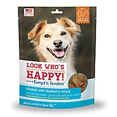 image of Look Who's Happy® Tempt'n Tenders™ 4 oz. Chicken and Blueberry Flavor Crusted Dog Treats