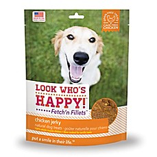 image of Look Who's Happy® Fetch'n Fillets™ 4 oz. Chicken Jerky Dog Treats
