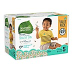 image of Seventh Generation™ 69-Count Size 5 Free & Clear Diapers
