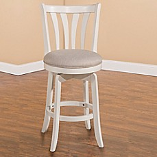 image of Hillsdale Whitman Swivel Stools in White