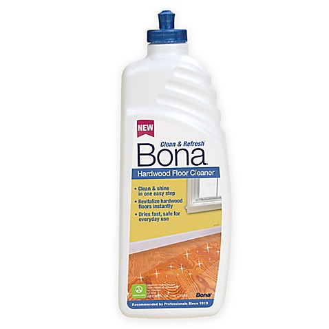Bona 36 oz clean and refresh hardwood floor cleaner for Wood floor cleaner bona