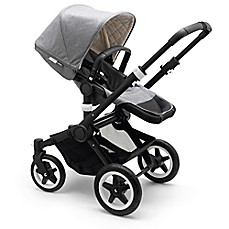 image of Bugaboo Buffalo Classic Collection Complete Stroller in Grey Mélange