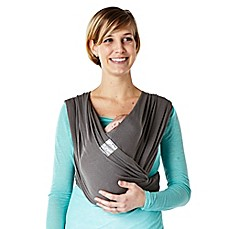 image of Baby K'tan® Breeze Baby Carrier in Charcoal