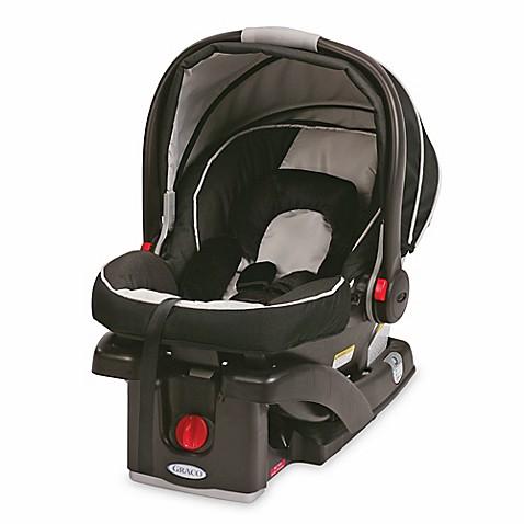 graco snugride click connect 35 infant car seat in onyx bed bath beyond. Black Bedroom Furniture Sets. Home Design Ideas