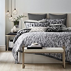 image of Canadian Living Winnipeg Standard/Queen Pillow Sham in Grey/Charcoal