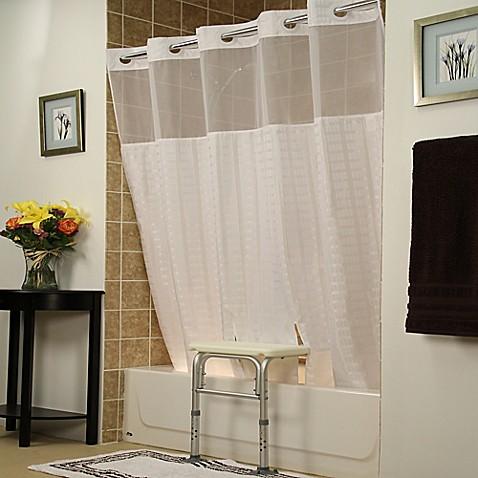 BenchBuddyR Shower Curtains