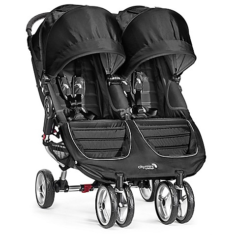 Baby Jogger® City Mini® Double Stroller in Black/Grey
