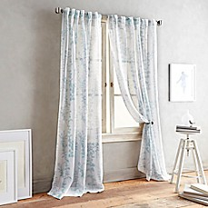 image of DKNY Front Row Back Tab Sheer Window Curtain Panel