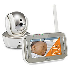 image of VTech® VM343 4.3-Inch Digital Video Baby Monitor w/ Pan/Tilt and Night Vision