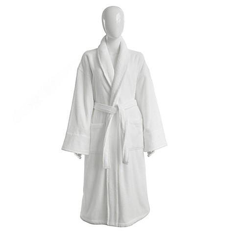 Wamsutta Collection 174 Turkish Cotton Luxury Robe In White