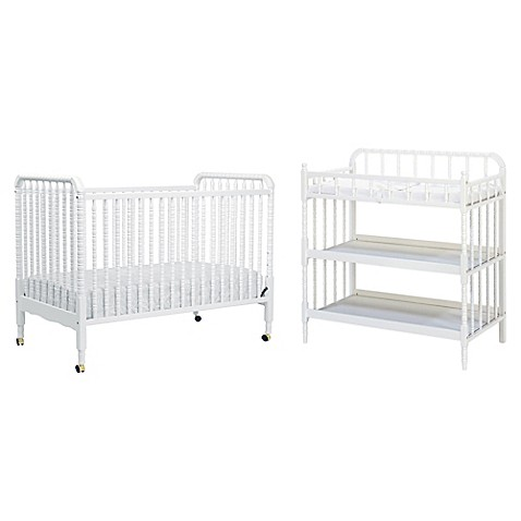 Davinci Jenny Lind Nursery Furniture Collection In White Bed Bath Beyond
