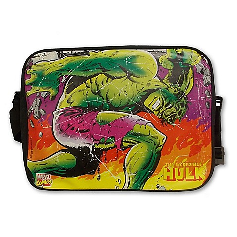 Marvel Comics Close-up Hulk Messenger Bag - Bed Bath & Beyond