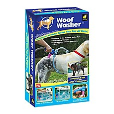 image of Woof Washer™ Dog Washer in White