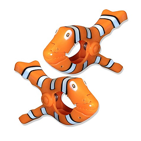 Clown Fish Boca Clips 174 Set Of 2 Bed Bath Amp Beyond