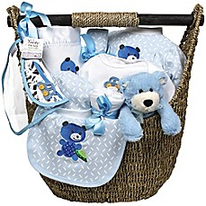 image of Welcome Home Baby 13-Piece Gift Set in Blue