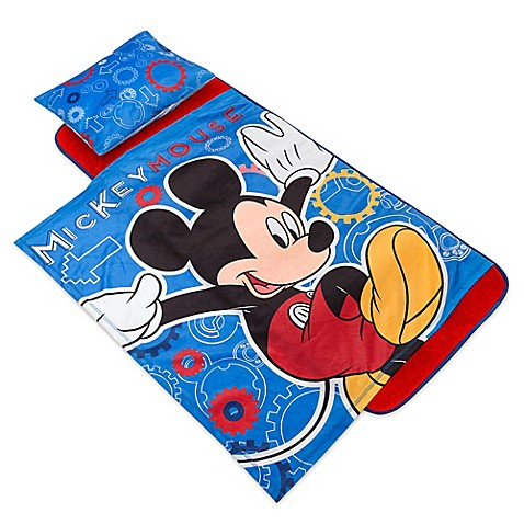 Disney 174 Deluxe Mickey Mouse Cogs Nap Mat Bed Bath Amp Beyond