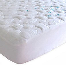 image of Forty Winks™ Pebble-Puff™ Tencel® Lyocell® Full Mattress Pad
