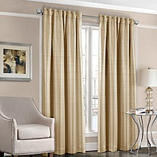 image of Designers' Select™ Satin Stripe Rod Pocket/Back Tab Window Curtain Panel