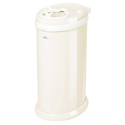 Ubbi® Diaper Pail in Ivory