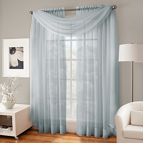 crushed voile platinum collection sheer rod pocket window 20240 | 83417446454676p 478