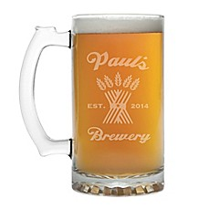 personalized beer mugs glasses custom pint and pilsner glasses