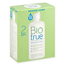 image of Bausch + Lomb Biotrue® 2-Count Multi-Purpose Solution
