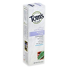 image of Tom's of Maine 4.7 oz. Whole Care Toothpaste in Wintermint