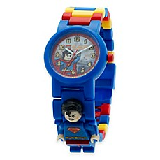 image of LEGO® DC Comics™ Super Heroes Superman Buildable Watch with Minifigure
