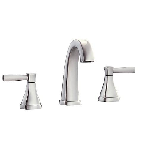 Buy Avanity Clarice 2 Handle 8 Inch Widespread Bathroom Faucet In Brushed Nickel From Bed Bath