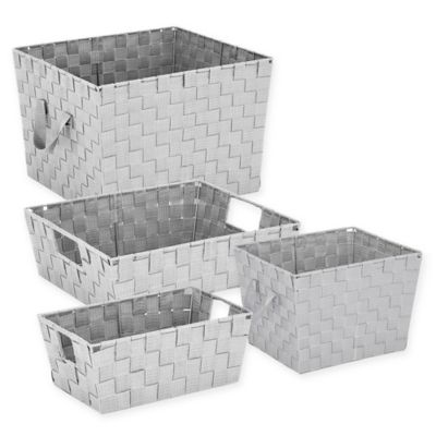 Storage Baskets Bins Basket Containers Bed Bath Beyond