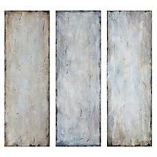 High Quality Image Of Uttermost Textured Trio Abstract Wall Art (Set Of 3) Part 11