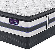 image of Serta® iComfort® HYBRID HB500Q SmartSupport™ Super Pillow Top Mattress Set