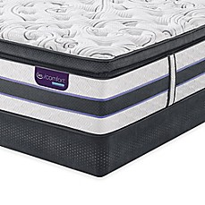 image of Serta® iComfort® HYBRID HB700Q SmartSupport™ Super Pillow Top Low Profile Mattress Set