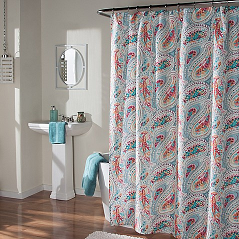 m style paisley shower curtain bed bath amp beyond 85734
