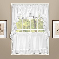 image of vienna window curtain tier pair and valances